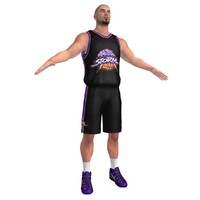 basketball player 6 3d max
