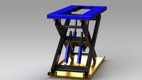 3ds max scissor lift