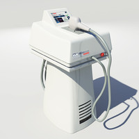 hair removal machine laser 3d 3ds