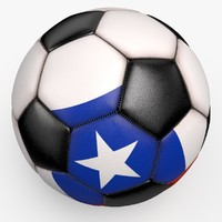 3d soccerball pro ball black