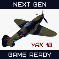 Yakovlev,  Yak1-B Soviet Fighter World War II