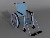 3dsmax wheelchair