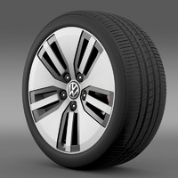Volkswagen E Golf wheel