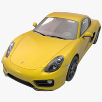 3ds porsche cayman 2013 sport car