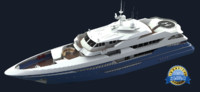 euro yacht 3d max