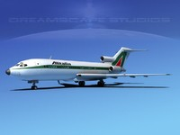 3ds max airline boeing 727 727-100