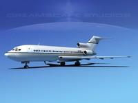 maya boeing 727 jet 727-100