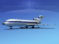 3ds max boeing 727 727-100