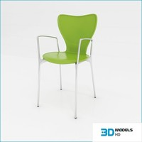 kitchen chair 3d max