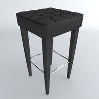 maya stool leather