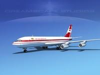 lwo 707-320 airlines boeing 707