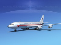707-320 airlines boeing 707 3ds