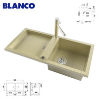 maya kitchen sink blanco