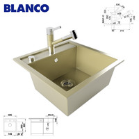 max kitchen sink blanco