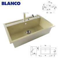 kitchen sink blanco 3d max