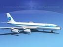 boeing 707-320 3D models