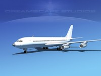 3ds 707-320 airlines boeing 707