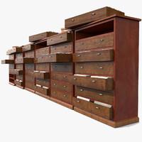 file archive 3d model