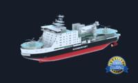 3d model icebreaker ice