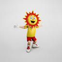 cartoon sun 3D models