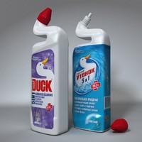 3d model toilet duck