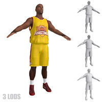3d basketball player 2