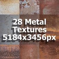 28 Metal Textures