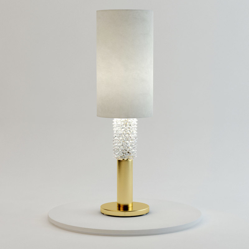 3ds max marilyn table lamp barovier for Table lamp 3ds max