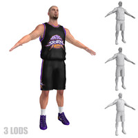 3d basketball player 6
