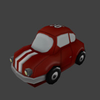 3ds max cartoon car