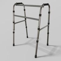 walker 3d model