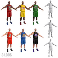 Basketball Players LODs