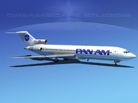 Boeing 727-200 Pan Am 2