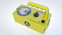 3d geiger counter model