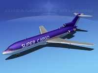 dwg airline boeing 727 727-200