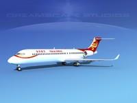 comac arj21 airliner arj21-700 3d x