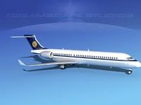 comac arj21 airliner arj21-700 3d 3ds
