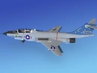 f-101 voodoo mcdonnell douglas 3ds