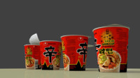 Nongshim Cupnoodle Spicy Mushroom