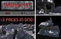 Ruin Elements Mega pack 01