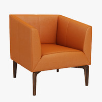 jen armchair chair 3d model