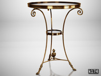 eichholtz table rubinstein 3d model