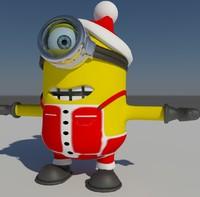 maya christmas minion