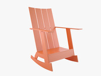 wood paint chair 3d 3ds