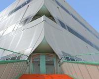 ziggurat futuristic building max