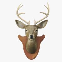 deer head 3d max
