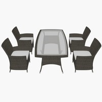 garden furniture 3d max