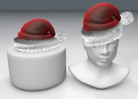 cinema4d santa hat