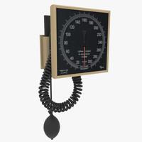 3d sphygmomanometer meter