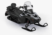 snowmobile ski-doo expedition se 3d 3ds